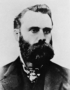 Charles Dow, créateur de l'indice Dow Jone