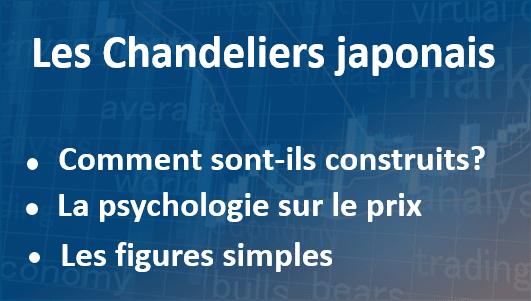 Présentation des chandeliers japonais en trading