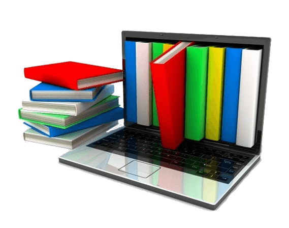 Illustration livre numérique